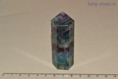 Кристалл из флюорита (74мм)