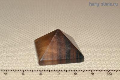 Пирамидка из флюорита
